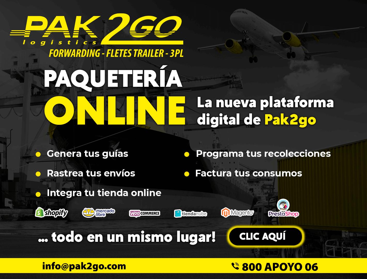 Paquetería online